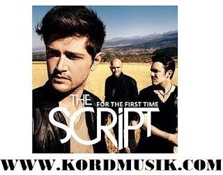 Chord Guitar The Script - Rock The World