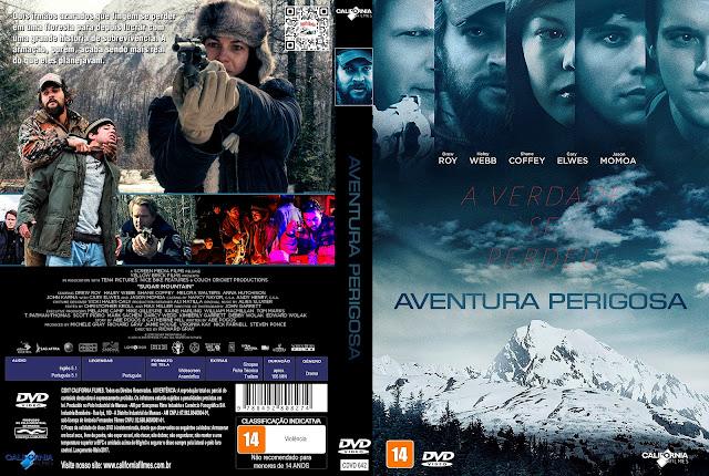 Capa DVD Aventura Perigosa [Custom]