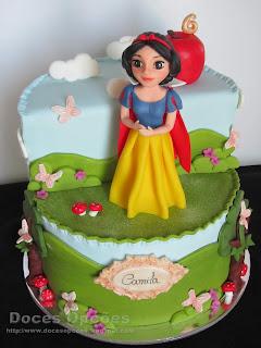 snow white disney cake