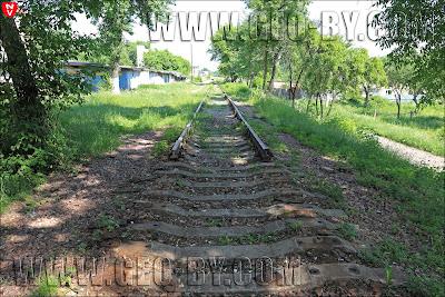 Минск. Разобранная железнодорожная ветка