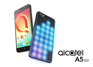 Source: Alcatel. The Alcatel A5 LED smartphone.