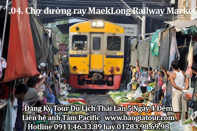 Chợ đường ray MaekLong Railway Market