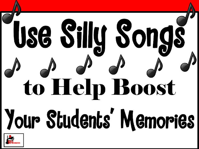Using silly songs can help books your students' memories and improve their test scores. Raki's Rad Resources will be hosting a Facebook Live Video on this topic on February 23, 2017.