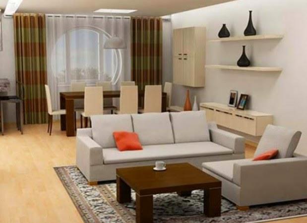 70 Desain Ruang Keluarga Dan Ruang Makan Menyatu Rumahku Unik