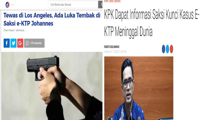 Netizen Curiga Isu Kematian Johannes Marliem Modus Hilangkan Barang Bukti Korupsi e-KTP