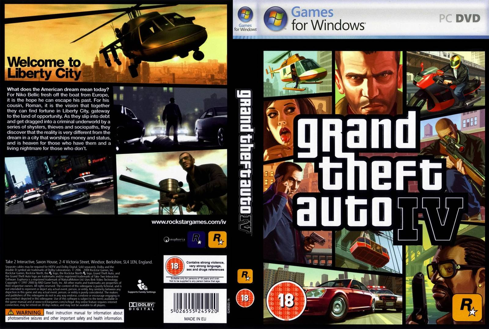 Gta 6 Cover: 3GpCell Covers: Grand Thewrft Auto IV