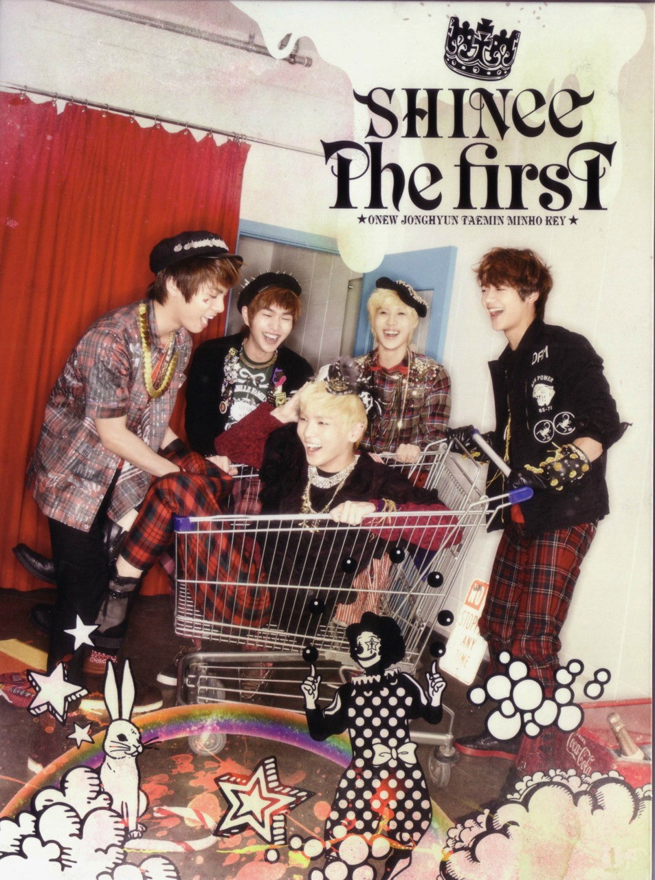 K[pop]Cave: SHINee - 'The First' Album [Japanese] + Full