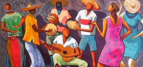 Era uma roda de partido-alto Zé Mixaria no cavaco, Tico Sem Nada no pandeiro, Chico da Madruga na timba, Maria das Dores improvisava arranhando gostosamente uma faca no prato, Pedrinho versava muito bem no partido alto, Pretinha, Rita e Cassandra de Jesus de Jesus Nada sapateavam ao som do partido alto e tudo isso acontecia na Viela Só Sorriso na Favela Do Recanto. Ali um paraíso e por isso o nome Viela Só Sorriso, mas para se chegar à boca desse beco era preciso atravessar a Ponte do Desespero, subir a Escada do Pecador, atravessar o Beco da Tristeza, passar pela Esquina da Maldade e, ainda por cima, aturar o disse me disse do Boteco do Portuga.