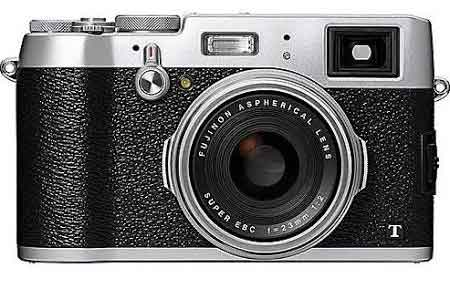 Fujifilm FinePix X100T Digitalkamera - 16,3 MP - Silber