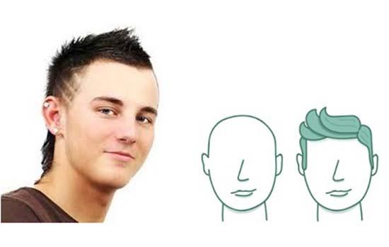 Potongan Rambut Lelaki Berwajah Bulat. Kenali Potongan Rambut yang Sesuai  Mengikut Bentuk Wajah Untuk Lelaki eba988c282
