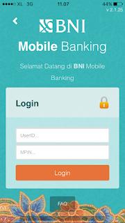 cara mendaftar dan aktivasi bni mobile banking for iphone ios