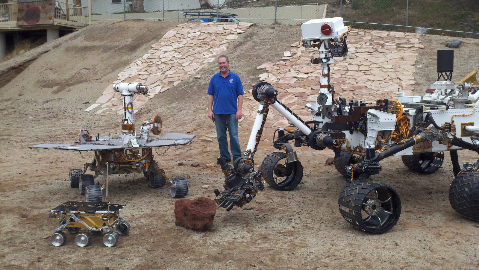 Blasphemes Mars Rover Evolution