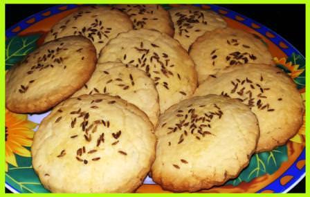 Ajwain Atta Biscuits