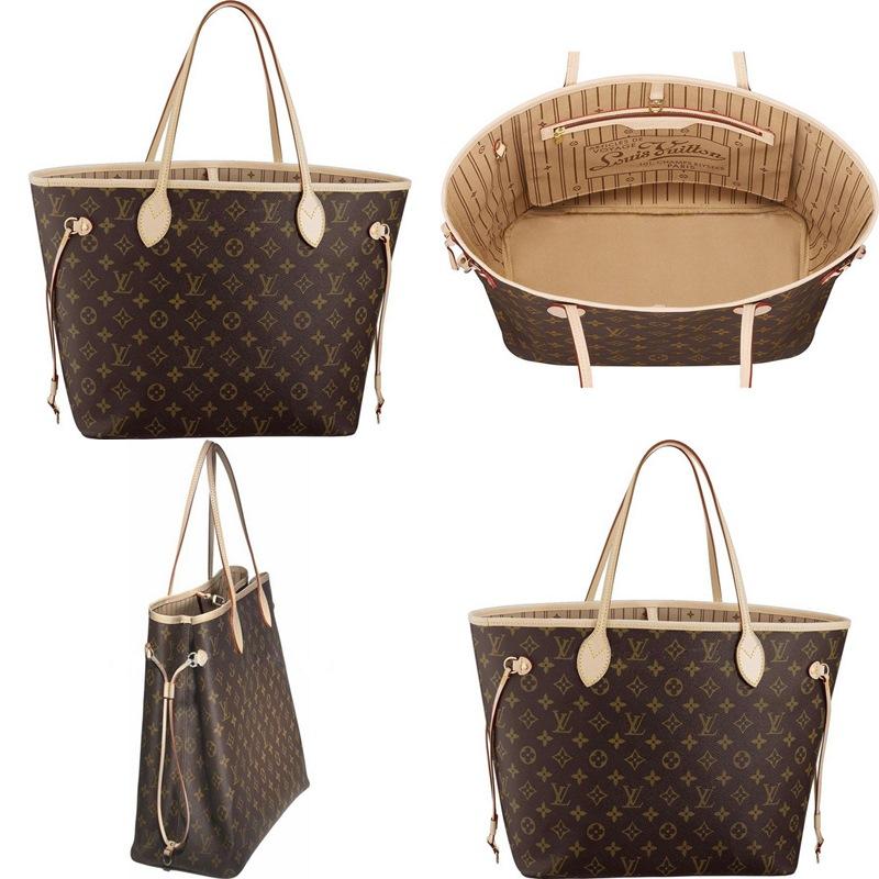baed2a8be Unnie's Shop: Louis Vuitton Neverfull Monogram Bag (Replica)