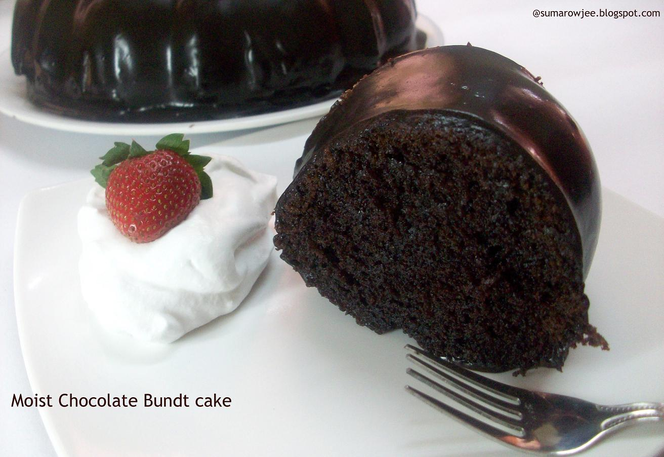 Chocolate Bundt Cake With Ganache Filling