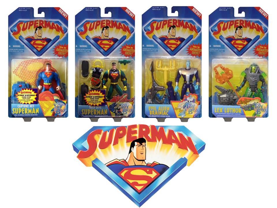 The Toy Box: Superman The Animated Series (Kenner)
