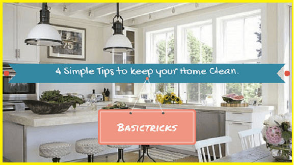 how to clean your house in 3 days
