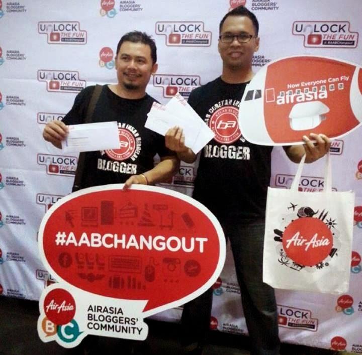 Lan Careno dan Freddy Redscarz Menang Tiket Penerbangan ke Cebu Filipina Dari AirAsia