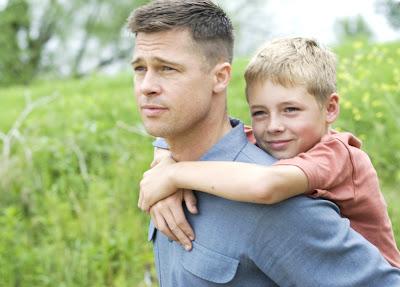 Imagen de Brad Pitt en El árbol de la vida