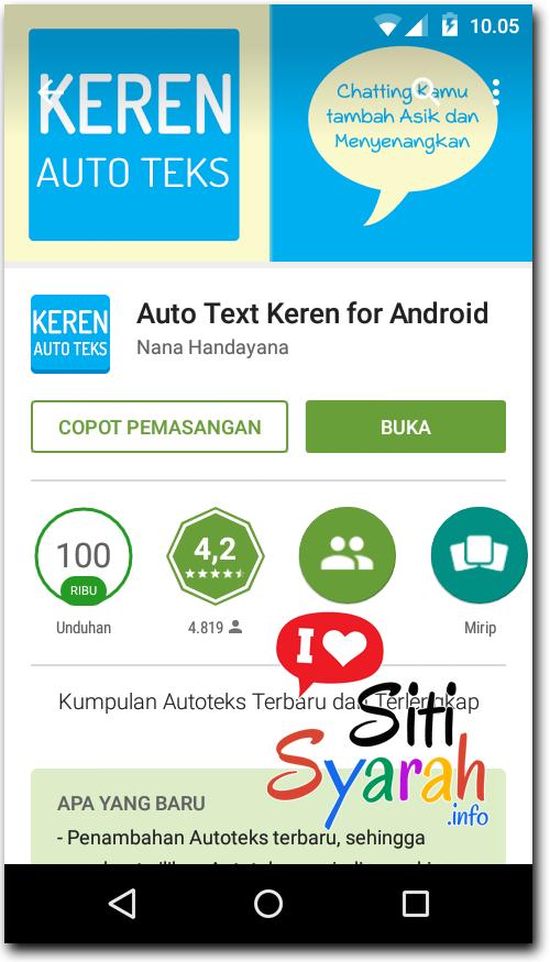aplikasi autoteks Android