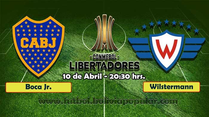 【En Vivo】 Boca Juniors vs. Wilstermann - Copa Libertadores 2019