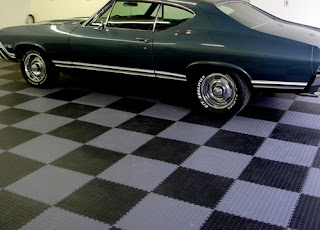 garage flooring checkerboard Greatmats