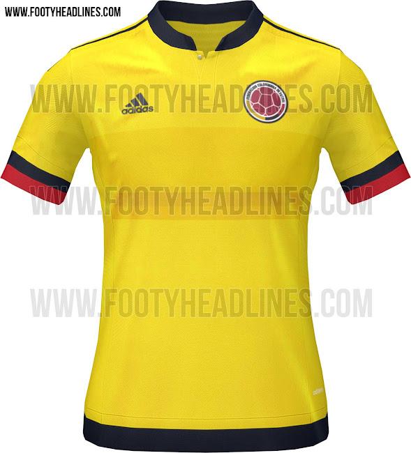 Se filtran imágenes de la camiseta de Colombia para la Copa