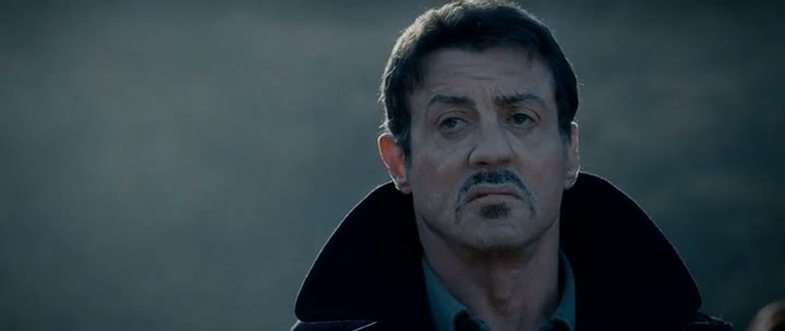 Screen Shot Of The Expendables 2 (2012) Dual Audio Movie 300MB small Size PC Movie