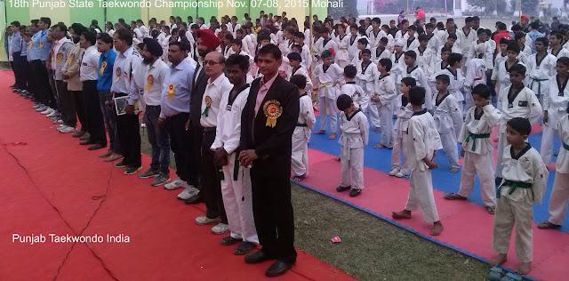 18th Punjab State Tkd Championship, Mohali, Master Er. Satpal Singh Rehal in Tkd action doing Taekwondo Jump & Flying Kick (Twio Yeop Chagi), Garhshankar, Hoshiarpur, Mohali, Chandigarh, Punjab, India, Patiala, Jalandhar, Moga, Ludhiana, FSpliterozepur, Sangrur, Fazilka, Mansa, Nawanshahr, Ropar, Amritsar, Gurdaspur, Tarn taran, Martial Arts Tkd Training Club, Classes, Academy, Association, Federation