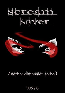 Scream saver - Another dimension to hell book promotion Tony Garrod