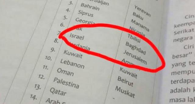 Kemdikbud Harus Investigasi Penerbit Buku Yerusalem Ibu Kota Israel