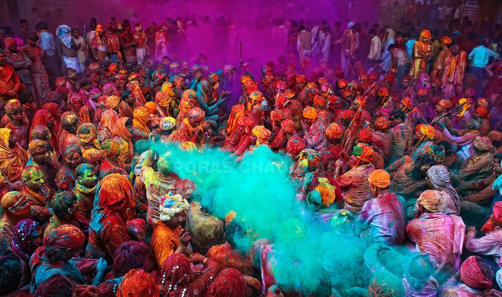 Los Diez Días De La Garza El Festival Del Color De India O Holi