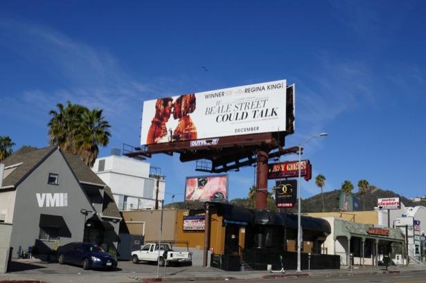 If Beale Street Could Talk Regina King billboard