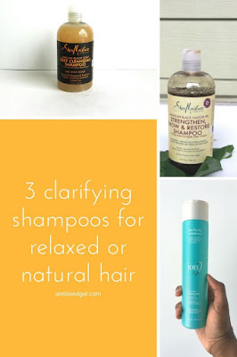 The five ways I know it's time to clarify my hair. Plus I share my favorite clarifying shampoos. | arelaxedgal.com