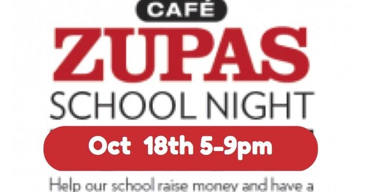 Silver Mesa Elementary Pta Family Night At Zupas