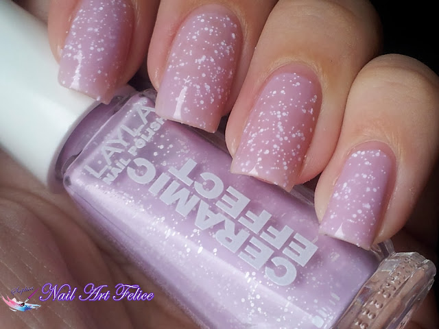CE103 Soft Fruits - Ceramic Sorbet Effect Layla - Swatch01 - Nail Art Felice