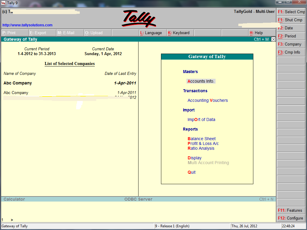 Create TDS Payable 94C Ledger in Tally - Accounting & Taxation