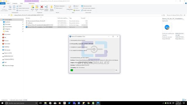 Creando USB booteable con Remix OS 3