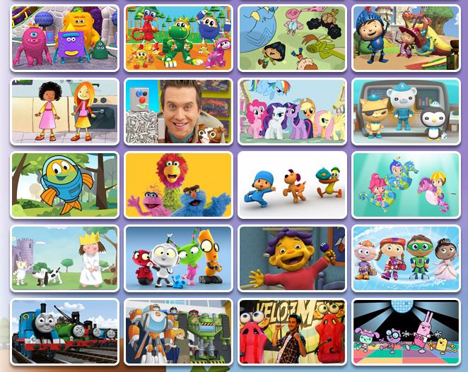 Discovery Familia Cartoons