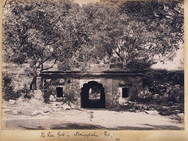 The River Gate in Seringapatam Fort - Karnataka 1895
