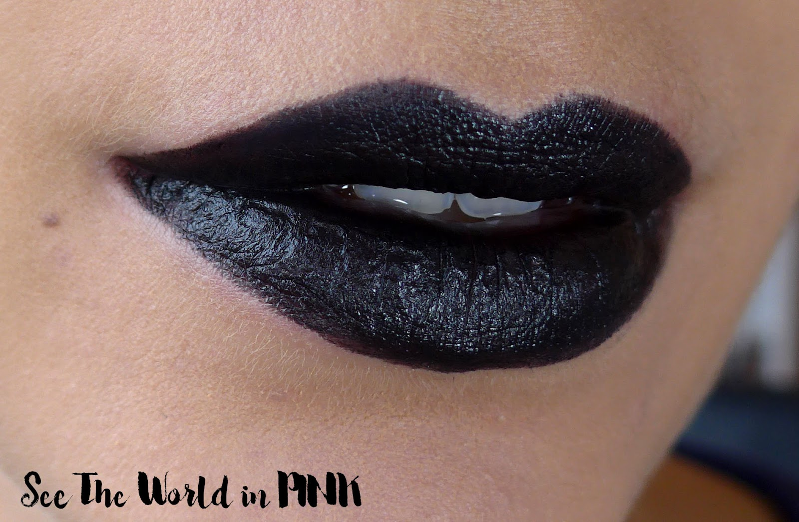 Black Lipstick Trend - ColourPop Bull Chic Lippie Stix