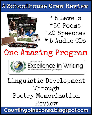 TOS, Poetry memorization, Reading readiness, Writing foundation, Mastery learning, poetry, IEW