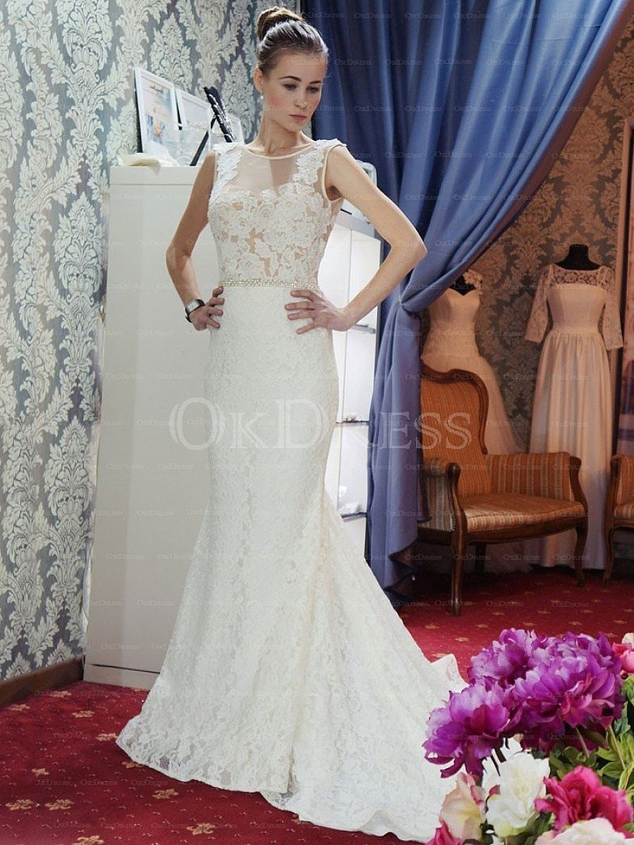 http://www.okdress.uk.com/simply-sweep-train-sleeveless-natural-ivory-wedding-dresses-pett2362/