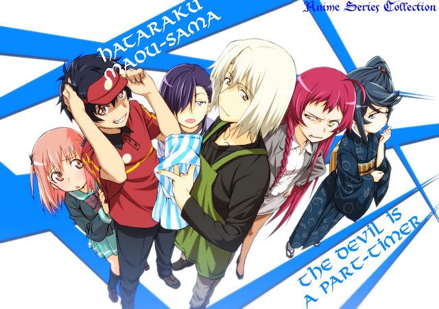 Download Hataraku maou-sama complete free download