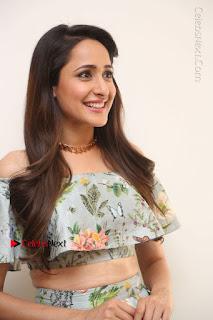 Actress Pragya Jaiswal Stills in Floral Dress at turodu Interview  0010.JPG