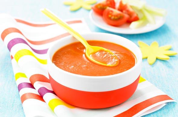 Supa de rosii pentru copii de peste 9 luni