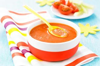 Supa de rosii pentru copiii de peste 9 luni