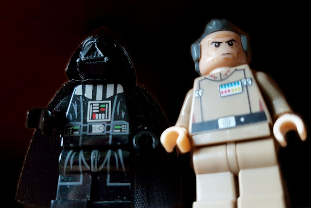 Grand Moff Tarkin and Darth Vader, Star Wars