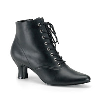 Victorian Lace Up Ankle Boots