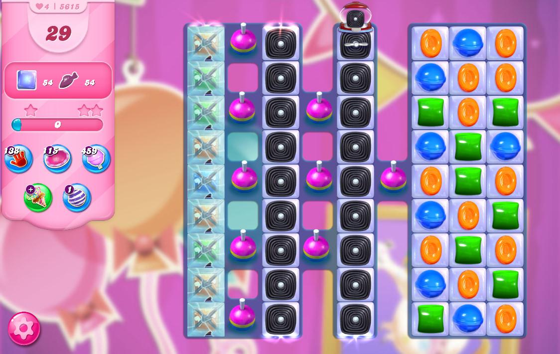 Candy Crush Saga level 5615